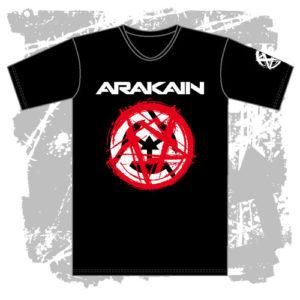 Pánské triko Pentagram černé