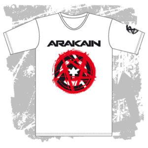 Pánské triko Pentagram bílé