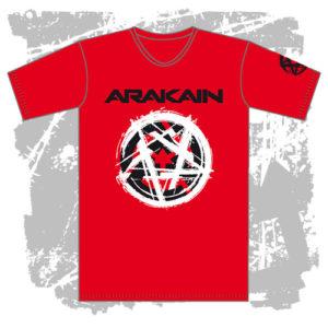 Pánské triko Pentagram červené