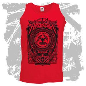 Pánský nátělník Metal Legend červený