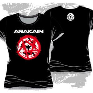 Dámské triko Pentagram černé