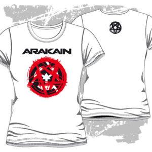 Dámské triko Pentagram bílé