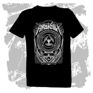 Dětské triko Metal Legend černé