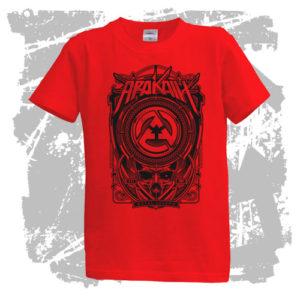 Dětské triko Metal Legend červené