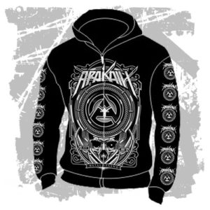 Mikina Metal Legend kapuce zip