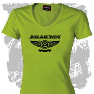 Dámské triko Křídla zelená